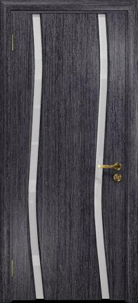Межкомнатная дверь DioDoor Грация 2 абрикос, триплекс белый