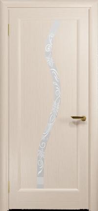 Межкомнатная дверь DioDoor Миланика 4 беленый дуб