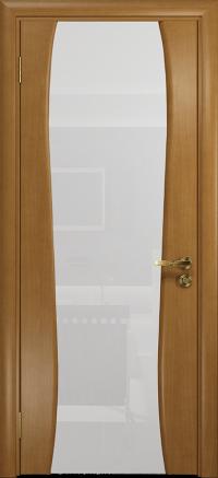 Межкомнатная дверь DioDoor Портелло 2 анегри триплекс белый