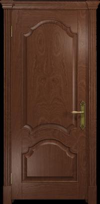 Межкомнатная дверь DioDoor Валенсия 1 красное дерево