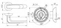 Ручка Fuaro WING RM CF-17 кофе