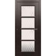 Дверь Краснодеревщик 3340 черный дуб