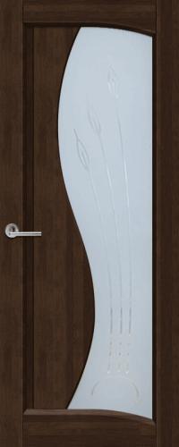 Дверь Ока Лагуна темный орех