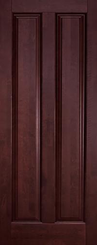 Дверь Ока Соренто, глухая, Махагон