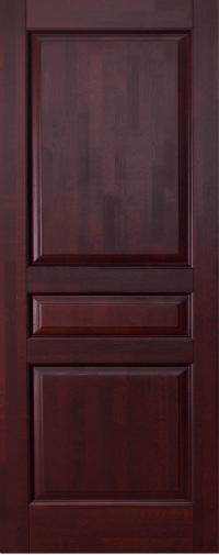 Дверь Ока Валенсия, глухая, Махагон