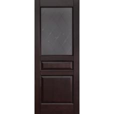 Дверь Ока Валенсия, остекленная, Венге
