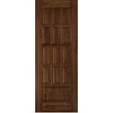Дверь Ока Лондон ПГ глухая Античный орех, массив дуба