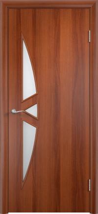 Дверь ламинированная Тип С-01 ДО, итальянский орех
