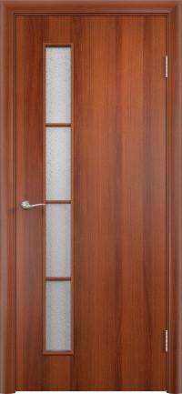Дверь ламинированная Тип С-14 ДО, Итальянский орех