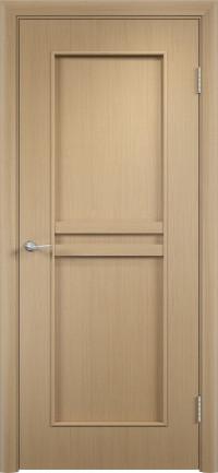 Дверь ламинированная Тип С-23 ДГ, беленый дуб