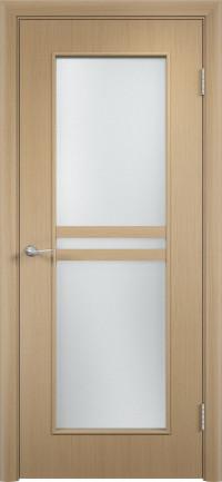 Дверь ламинированная Тип С-23 ДО, беленый дуб