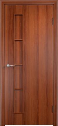 Дверь ламинированная Тип С-14 ДГ, Итальянский орех