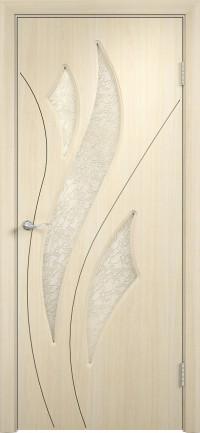 Дверь ПВХ Латина ДО беленый дуб