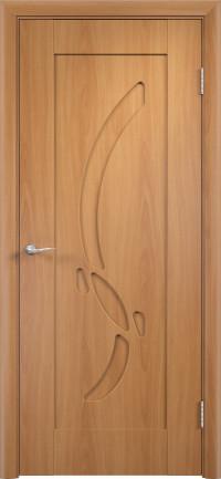 Дверь ПВХ Милена ДГ миланский орех