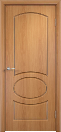 Дверь ПВХ Неаполь ДГ миланский орех
