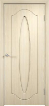 Дверь ПВХ Орбита ДГ беленый дуб