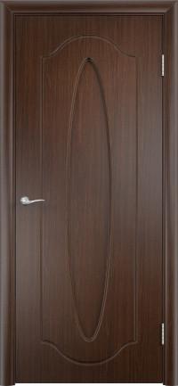 Дверь ПВХ Орбита ДГ венге