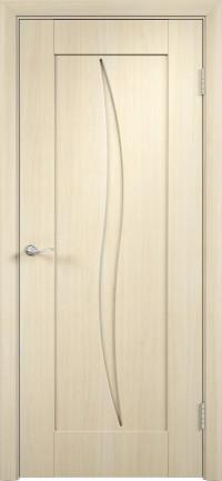 Дверь ПВХ Стефани ДГ беленый дуб