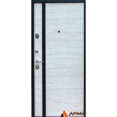 Входная дверь Арма Авант, акация светлая поперечная
