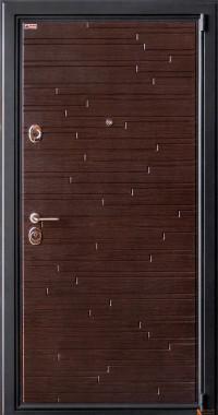 Дверь Arma Стоун с панелью Панорама 2 Сандал светлый
