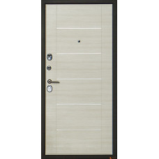 Дверь входная Арма Галеон с панелью Акация светлая поперечная