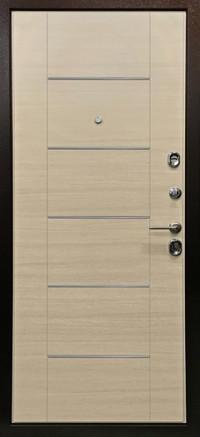 Дверь Arma Стоун с панелью В-3 Акация светлая поперечная