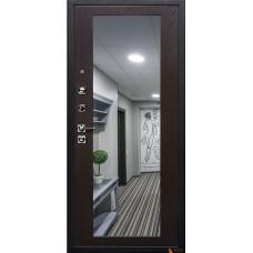 Дверь Arma Стоун с панелью Большое зеркало Венге тангенс