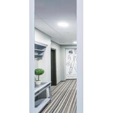 Дверь Arma Стоун с панелью Панорама Сандал светлый