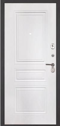Дверь металлическая входная Арма Бастион с панелью ФЛ-243 Силк Сноу