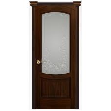 Дверь Лувр, Ясень винтаж, Стекло