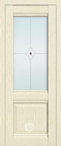 Дверь Casaporte Милан 12, беленый дуб патина