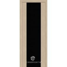 Дверь Casaporte Сан Ремо, Черный триплекс, беленый дуб
