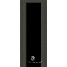 Дверь Casaporte Сан Ремо, Черный триплекс, малага чери