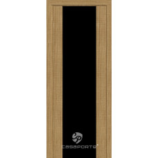 Дверь Casaporte Сан Ремо, Черный триплекс, тик