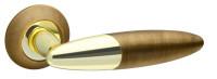 Ручка дверная Fuaro SOLO RM AB/GP-7