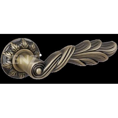 Ручка дверная Renz ЛУЧИЯ MAB матовая бронза