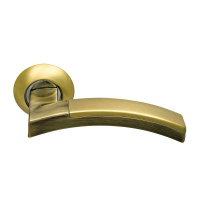 Ручка дверная Sillur 132 золото/бронза