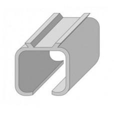 Верхняя направляющая для раздвижных дверей 2 м под уголок