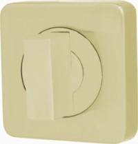 Фиксатор-завертка Armadillo WC-BOLT BK6/SQ-21SG-1 матовое золото
