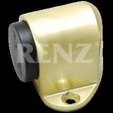 Дверной ограничитель RENZ, магнитный МАТОВОЕ ЗОЛОТО