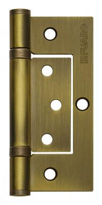 Петля дверная безврезная Fuaro 300-2BB 100x2,5 WAB, матовая бронза