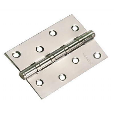 Петля дверная Morelli MS 4BB PC 100x70x2,5 хром