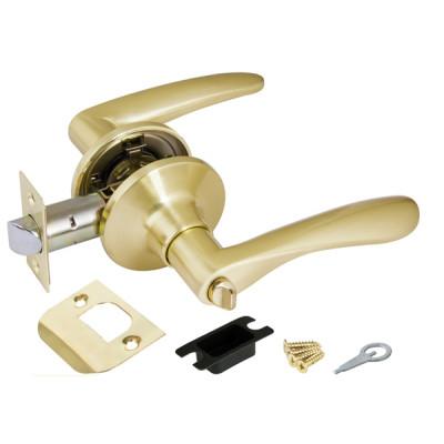 Ручка Punto защелка 6020 SB-B (фик.) матовая золото
