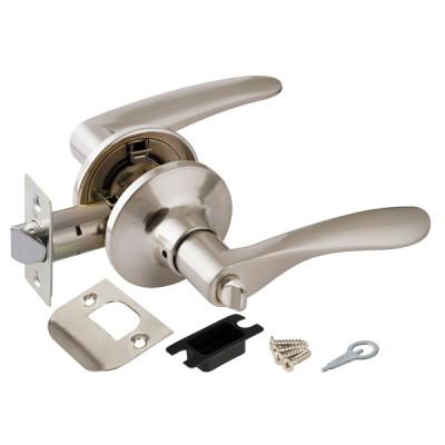 Ручка Punto защелка 6020 SN-B (фик.) матовая никель