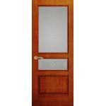 Дверь Марсель, Красное дерево, Стекло