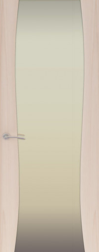 Дверь Буревестник -2, Ясень капучино
