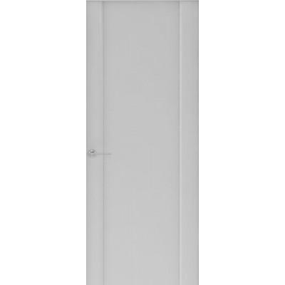 Дверь Capri-1, Глянец серый, глухое