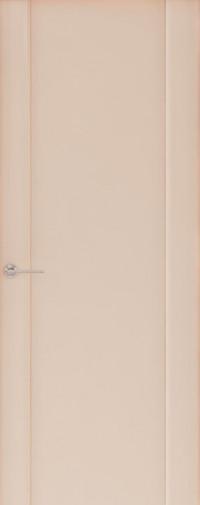 Дверь Capri-1, Глянец капучино, глухое