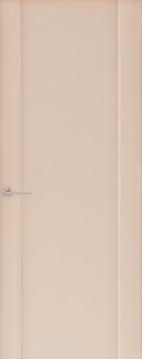 Дверь Capri-2, Глянец капучино, глухое