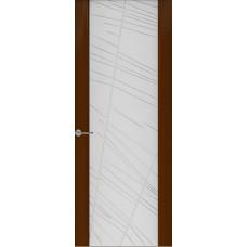 Дверь Capri-2, Глянец винтаж, стекло